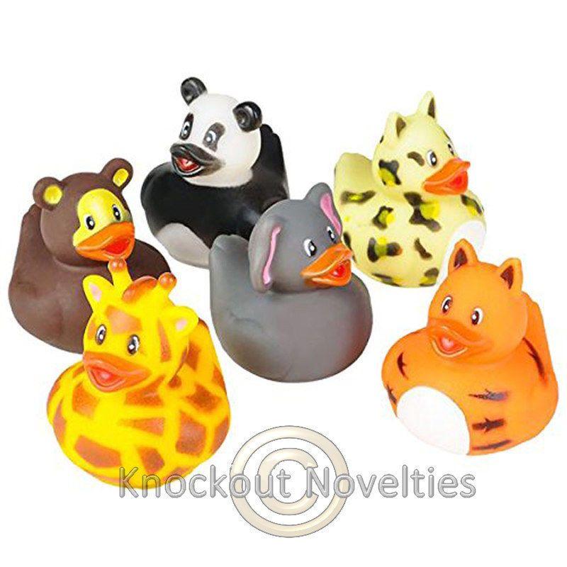 12 Piece Rhode Island Novelty 2 Baby Rubber Ducks