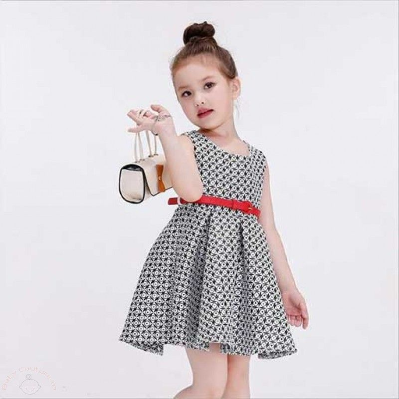 Red Summer Lace Kids Party Dress | Baby Girl Clothes Online India ...