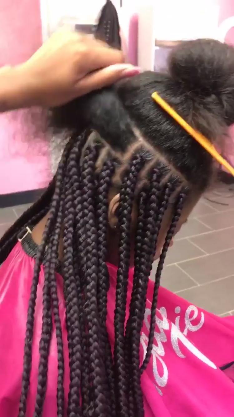 Pin by alana káren on trança afro box braids kanekalon pinterest