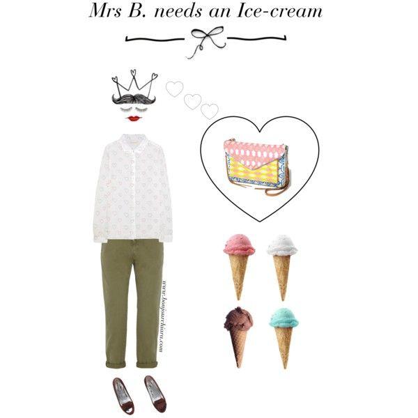 """Mrs B. needs an Ice-cream""  www.bonjourchiara.com"