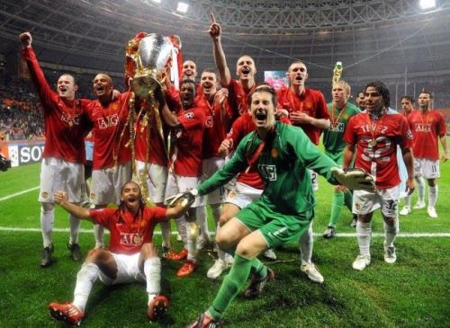 Man United Manchester United Champions Manchester United Players Champions League