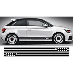 Audi A1 Side Stripes Style 1 Audi A1 Dream Cars Stripes Fashion