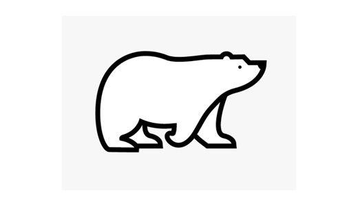 30 Cute Bear Logo Designs For Inspiration Colorlava Bear Logo Design Bear Tattoos Polar Bear Logo