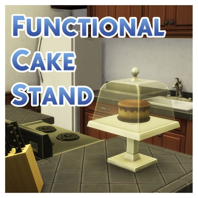 Functional Cake Stand With Optional GtW Version By