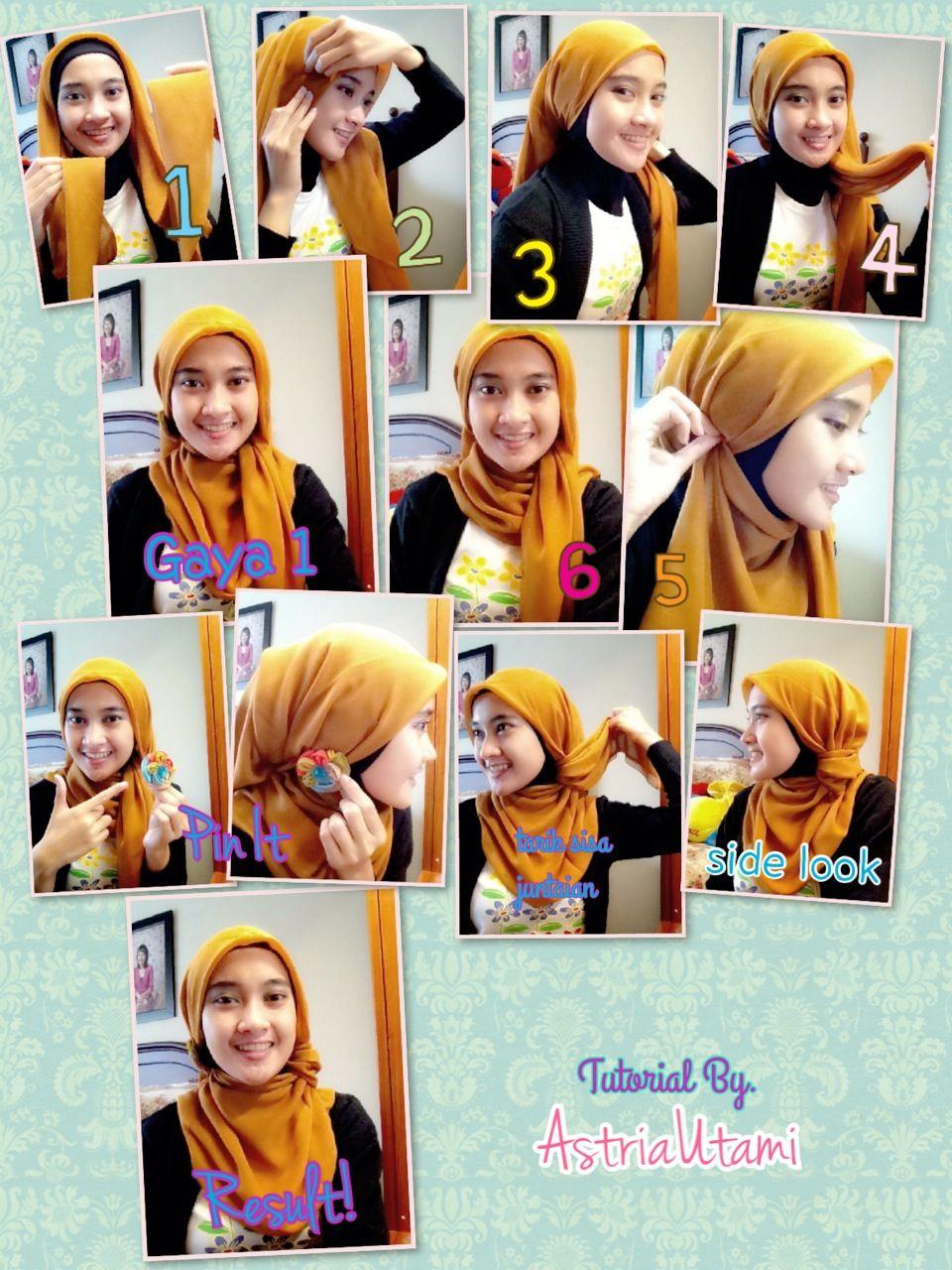 Trik Hijab Cantik Dengan Hijab Kantong Hijab Tutorial