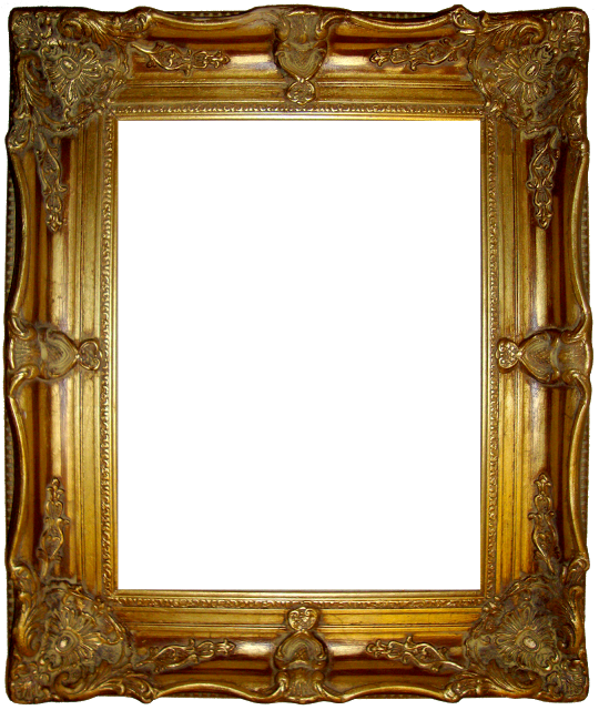 Lots Of Awesome Vintage Ornate Frames