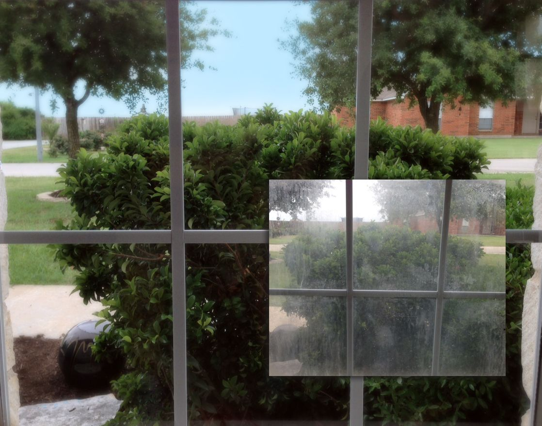 Texas Windows Are Especially Vulnerable To Foggy Glass With Our High Heat Especially On Western And Southern Exposures This Befor Window Repair Windows Glass