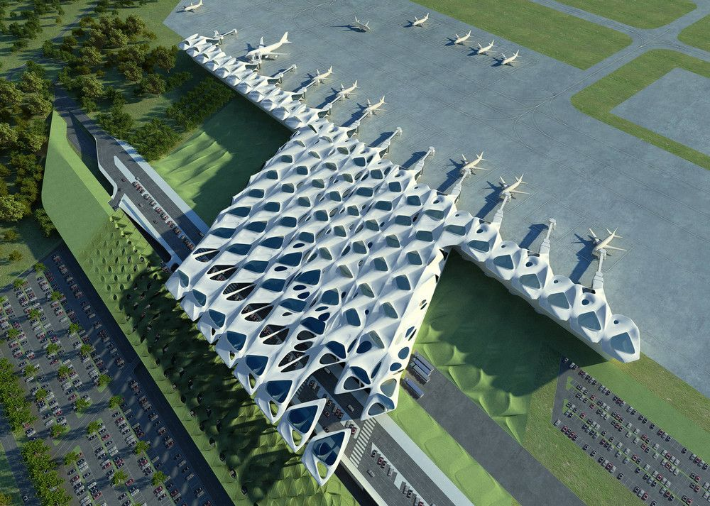 New Passenger Terminal And Masterplan Zagreb Airport In Croatia By Zaha Hadid Architects Zaha Hadid Architects Zaha Hadid Zaha