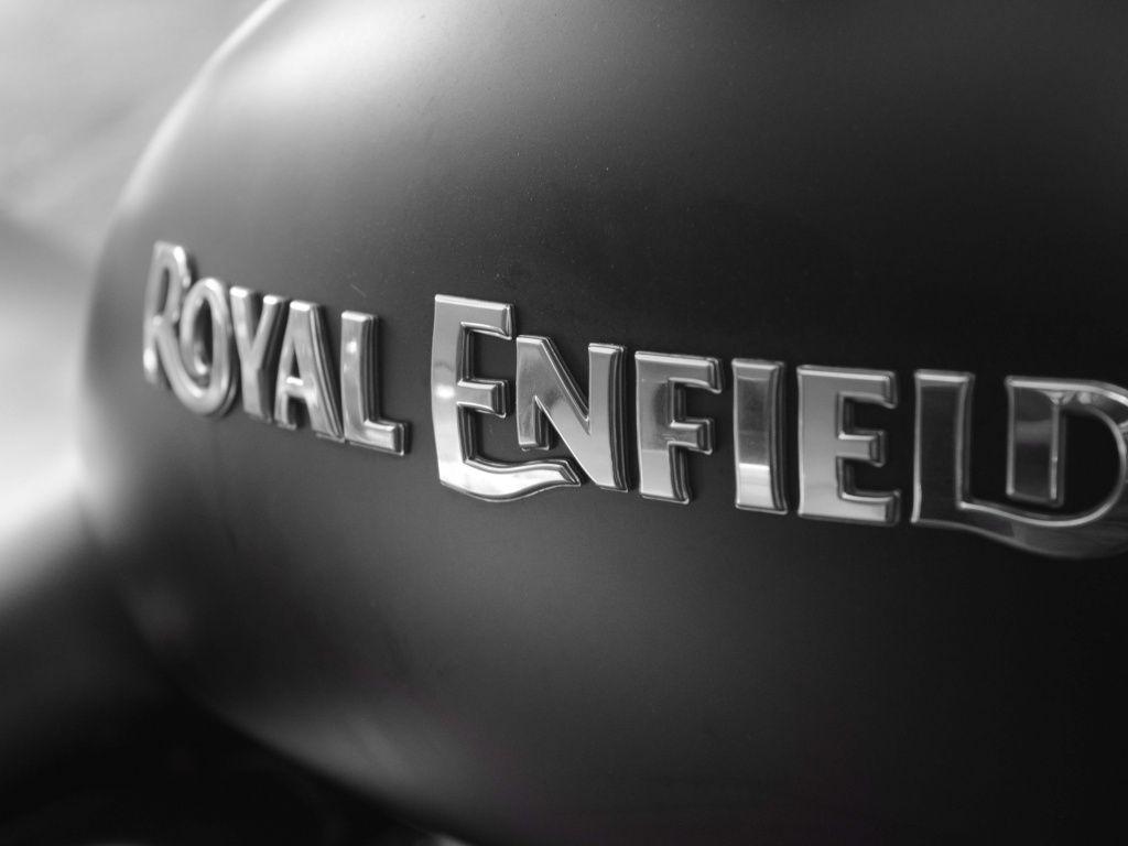Desktop Wallpaper Bike Bullet Royal Enfield Monochrome