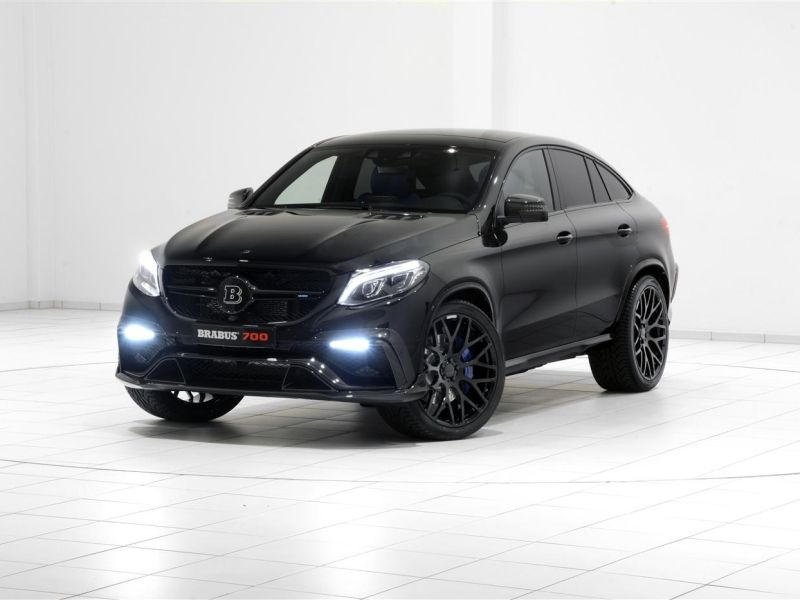 Brabus have presented a nearly 2.5-ton heavy and 300 km/h fast version of the Mercedes GLE 63 S Coupé at...