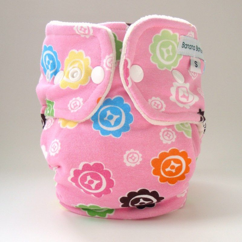 Organic Cotton Velour Fitted Diaper - Large  http://www.ecofabmama.com/catalog/fitted-diapers/banana-bottoms-pink-flowers-organic-cotton-velour-fitted-diaper---large-431.html