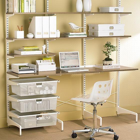 Coffee White Office Furniture Com Imagens Estante Escritorio Prateleiras Modulares Decoracao De Casa