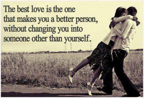 Hopefully everyone will eventually find the one they love & truly loves them!