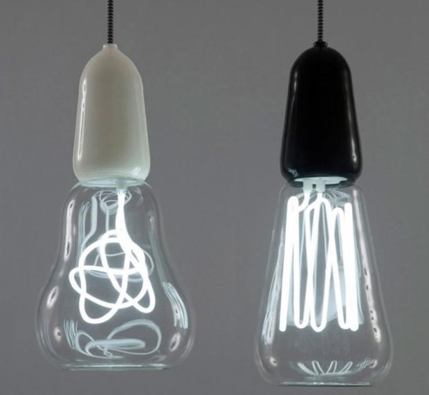 Filament lamp  Scott, Rich & Victoria