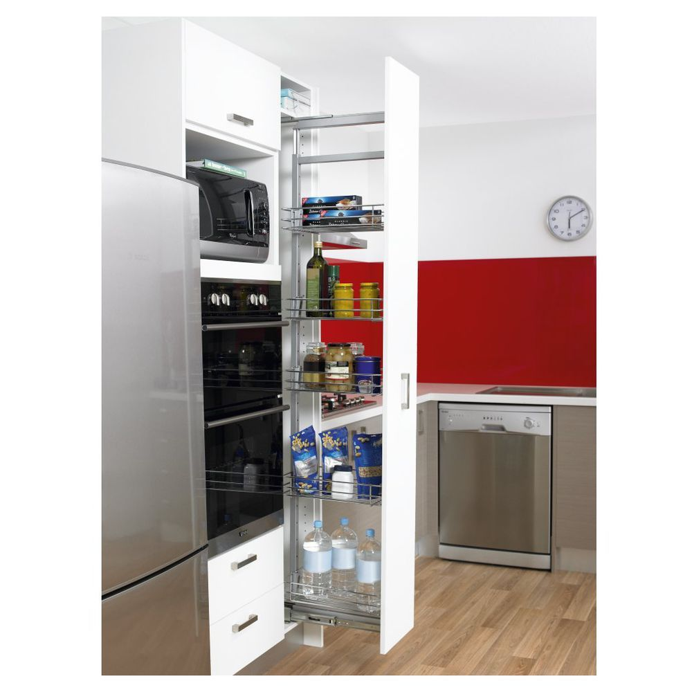 Hafele Profile Pop Out Pantry Cabinet B 300mm - Masters Home ...