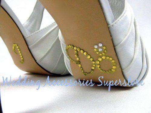 Advantage Bridal I Do Wedding Shoe Stickers with Gold Eng... http://www.amazon.com/dp/B009X1XJ6E/ref=cm_sw_r_pi_dp_A5-fxb0RTRJRH