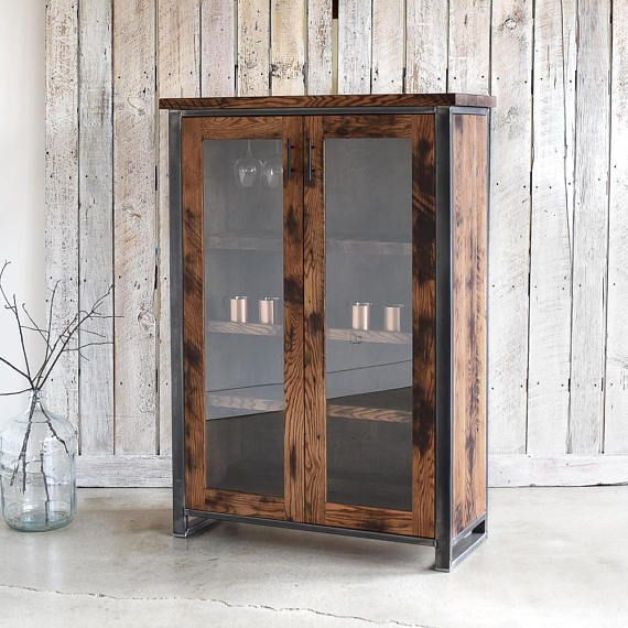 Beautiful Storage Cabinet With Glass Doors Design Ideas