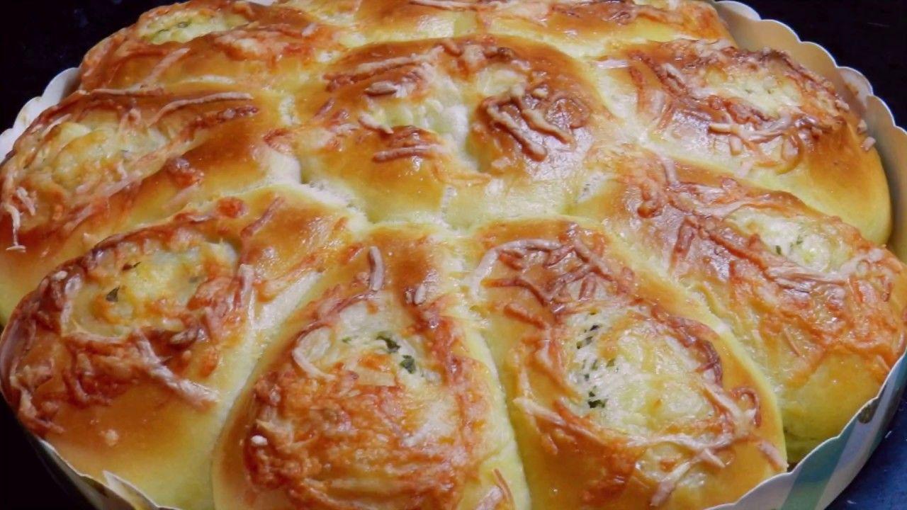 Cheese Bread Scallions Cheese Soft Bread Recipe Youtube Soft