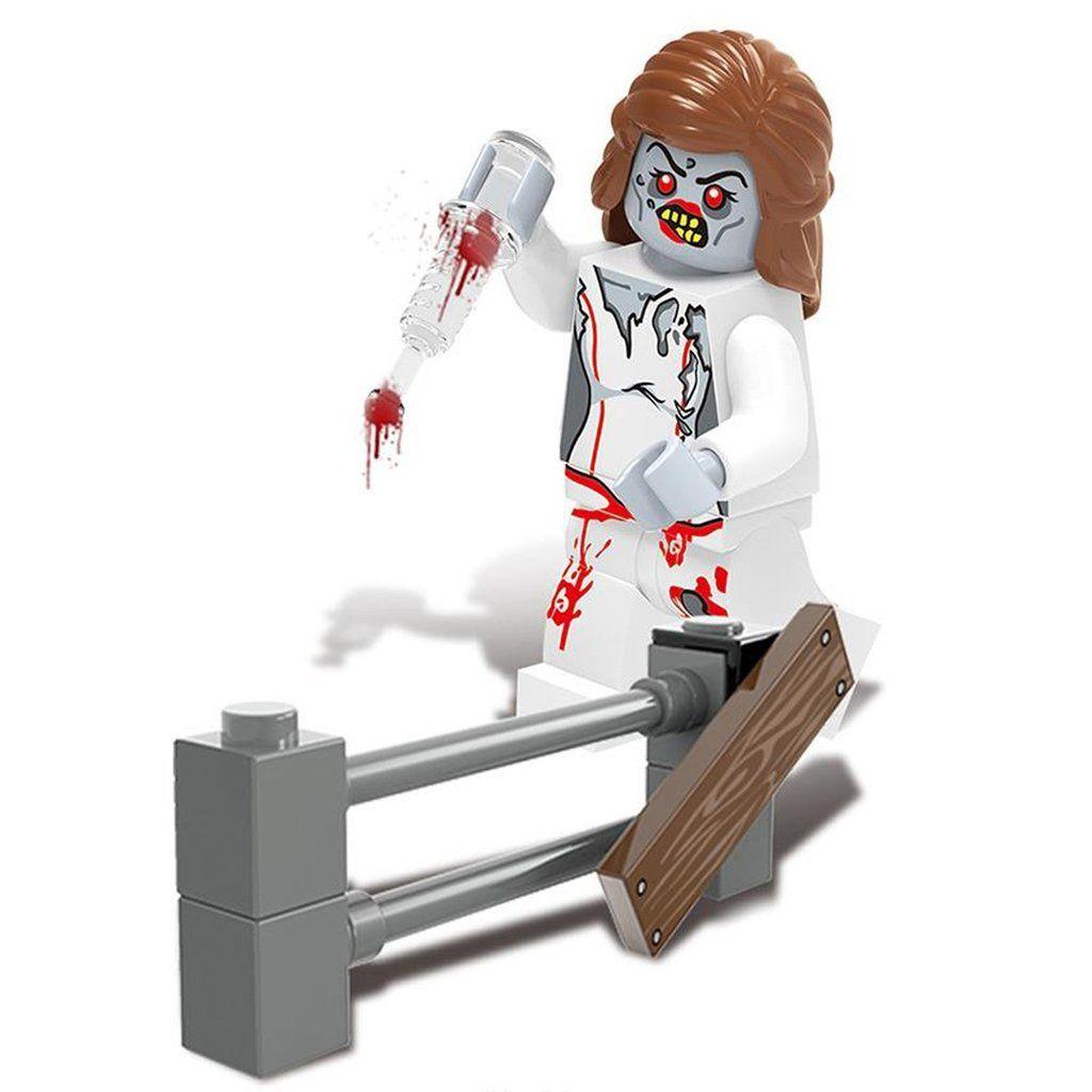 Minifig Biochemical Zombie Crisis Betty | Legoland, Brick