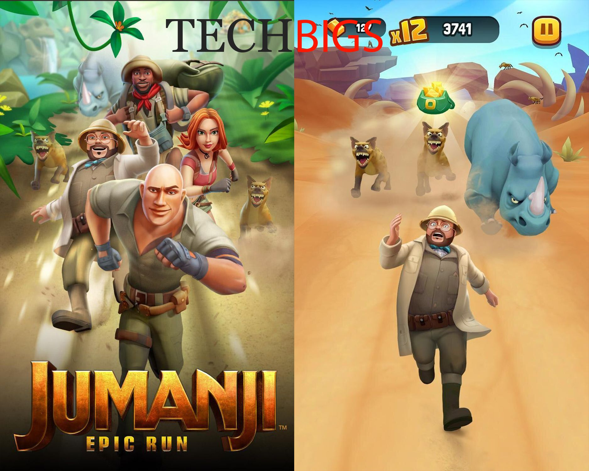Download Jumanji Epic Run Mod APK for Android Techbigs