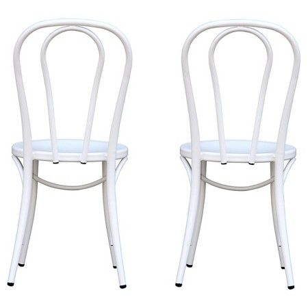 Target P Emery Metal Bistro Chair Set