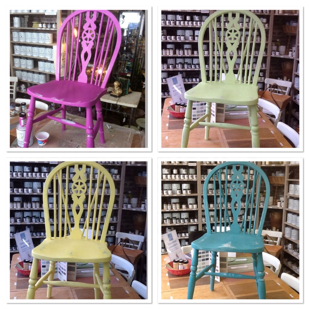 Heliotrope, Lime, English Yellow And Antique Turquoise U003d Gorgeous Brights