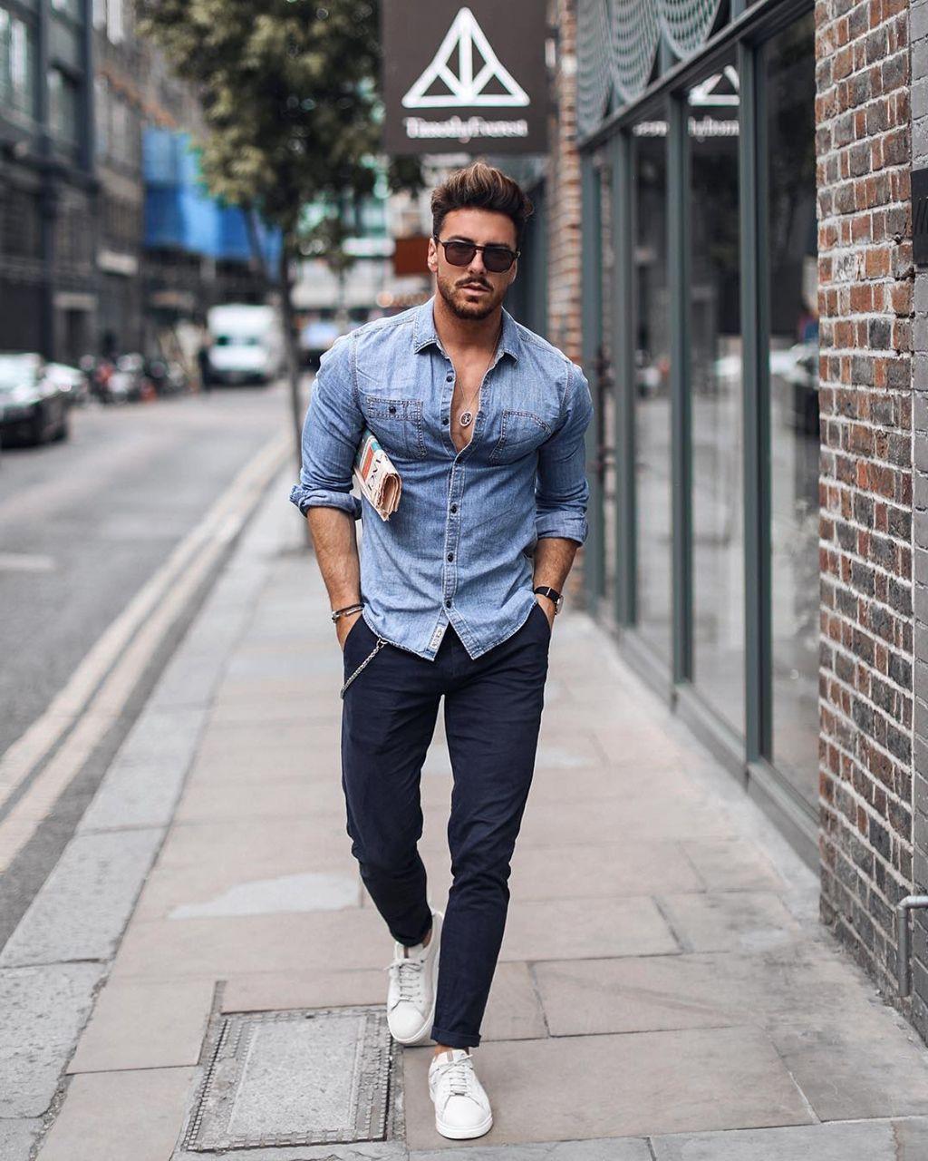 Camisa jeans masculina: dicas de como usar