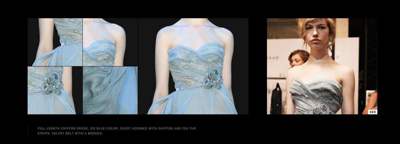 elie saab, haute couture. fall-winter 2011-2012.     my absolute dream to wear one of his dresses.
