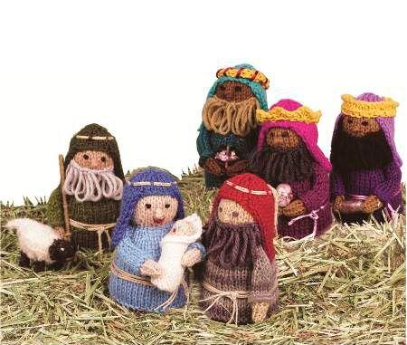 Free Knitting Pattern Nativity Set : Knitting pattern of the week: Knitted Nativity Set Knitting Pinterest K...