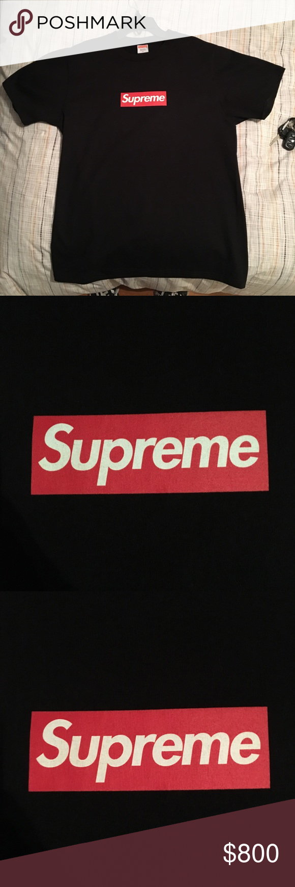 Supreme 20th anniversary Box Logo Black Brand new Never