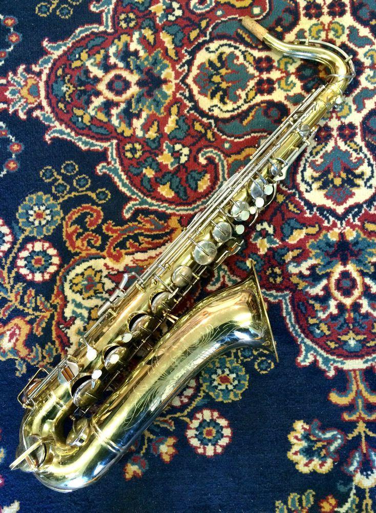 1950 Buescher Aristocrat Tenor Saxophone - Model 156 - Same Vintage
