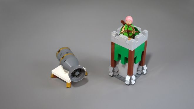 lego clash of clans instructions