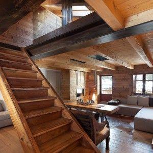 Atmosfera da chalet in una casa moderna cose di casa for Planner arredamento