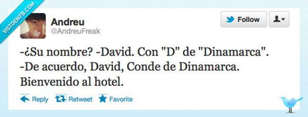 David, Conde de Dinamarca.