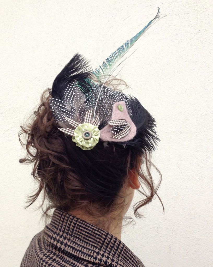 How to Make a Bird Fascinator #Wedding