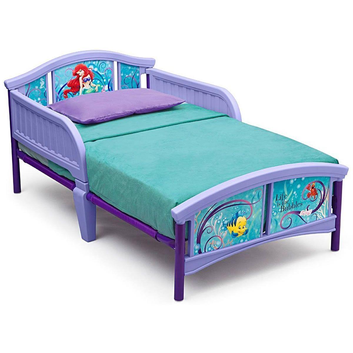 Best Delta Children Little Mermaid Plastic Toddler Bed 400 x 300