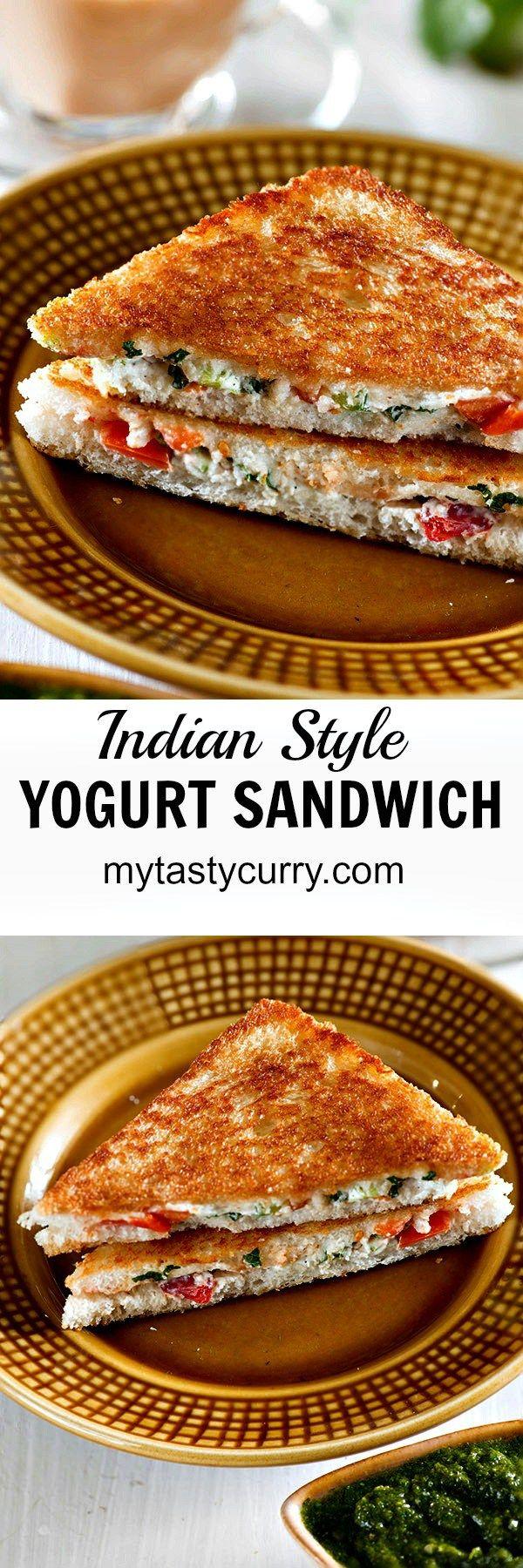 Curd and veggie sandwich indian sandwich recipe indian food curd sandwich or yogurt sandwich is healthy indian sandwich recipe forumfinder Choice Image
