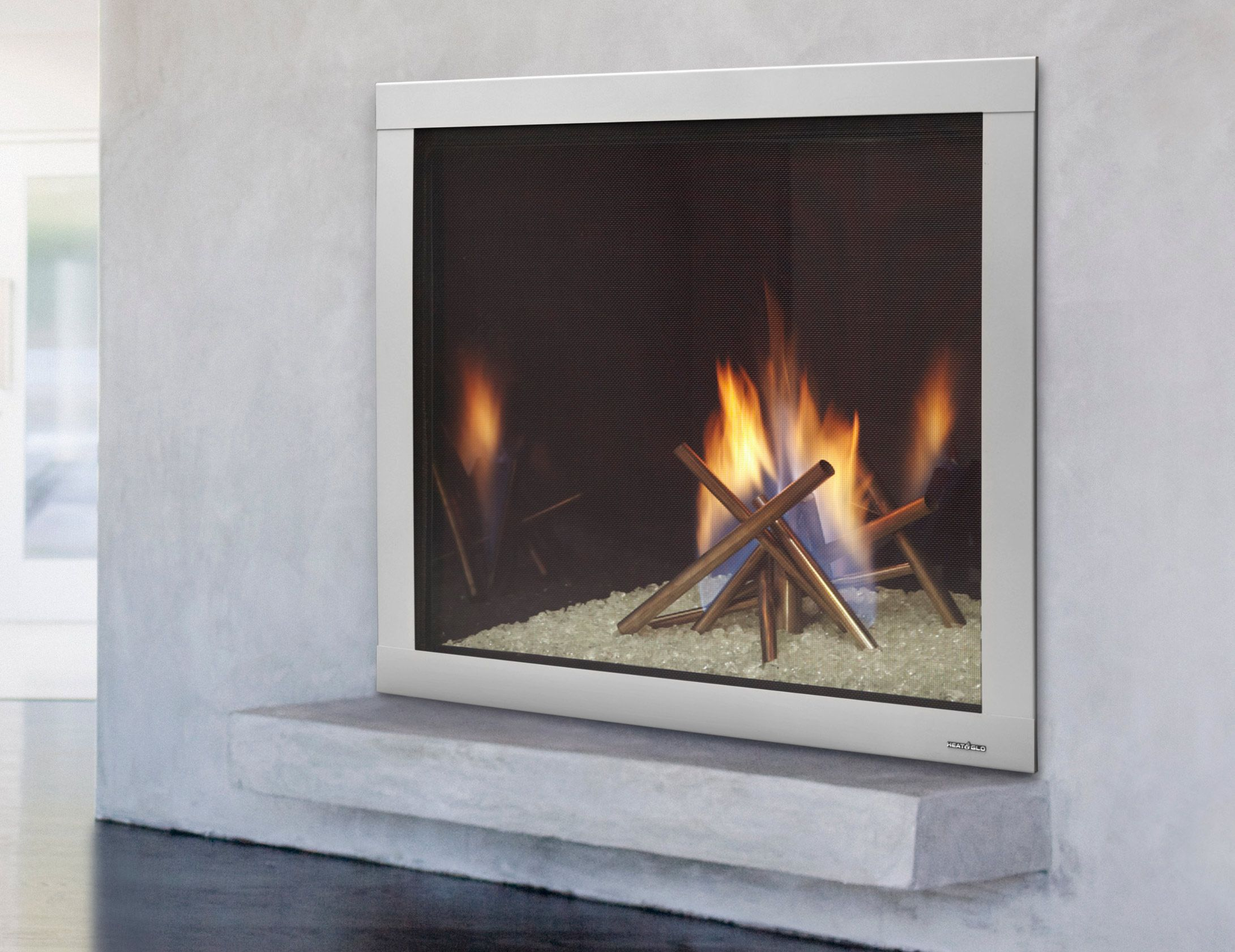 fireplace gas fiamma by modern f econo fireplaces
