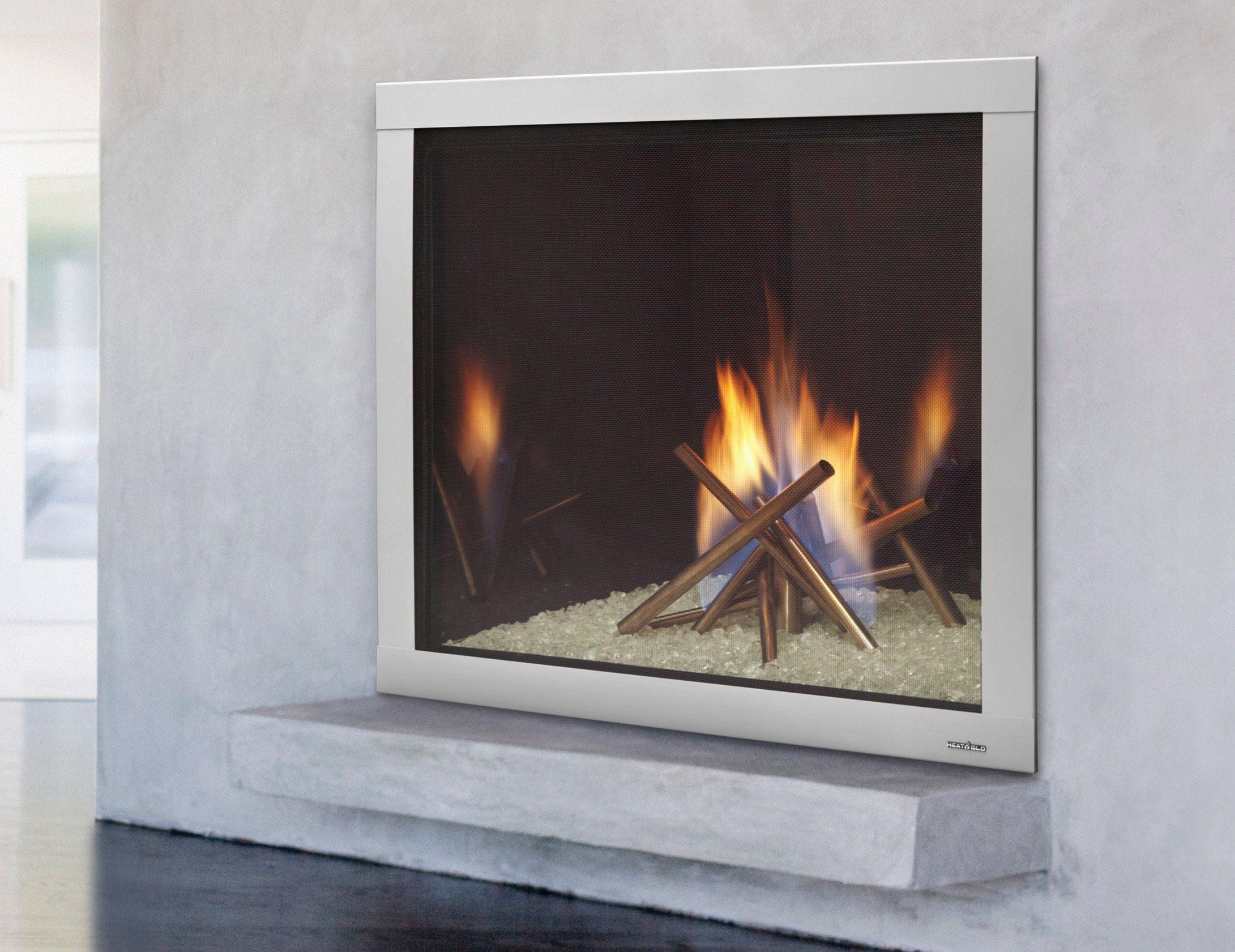 Modern Gas Fireplace Inserts Design