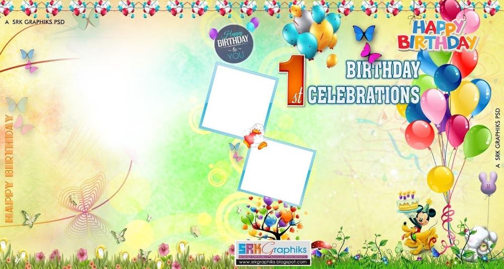 Birthday Flex Banner Design Psd Template Free Downloads Srk Throughout Photoshop Birthday In 2020 Flex Banner Design Birthday Card Template Free Banner Template Design