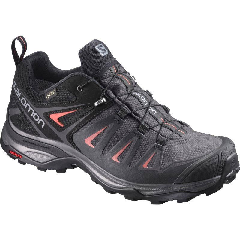 Buty Trekkingowe Salomon X Ultra 3 W L39868500 Czarne Szare Hiking Shoes Women Hiking Boots Walking Shoes Women