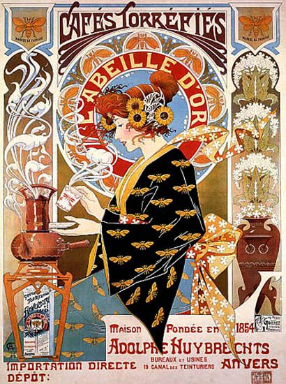 Privat Livemont Retro Poster Kunst Poster Retroposter