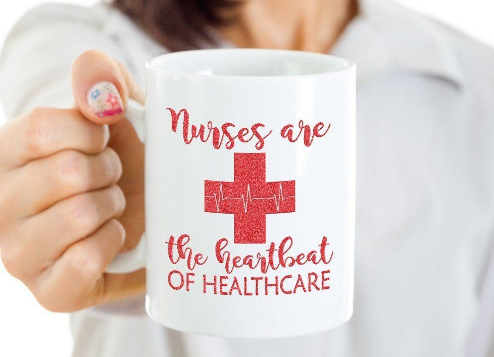 Nurses are the heartbeat of healthcare coffee muggreat