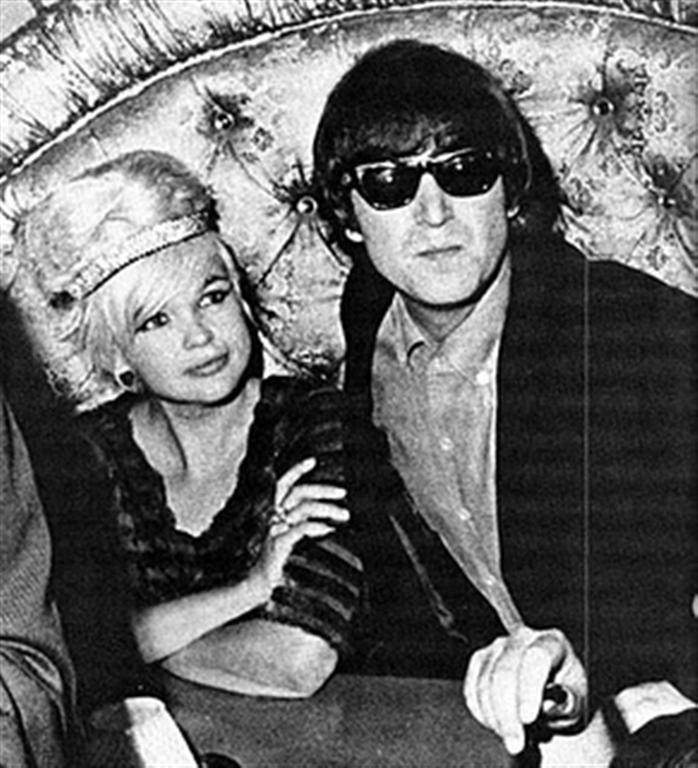 John with Jayne Mansfield