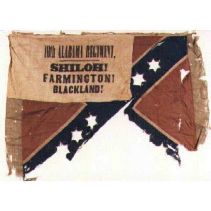 Flag 18th Alabama Infantry Catalogue No 86 1892 1 Pn10160 10161 This Flag Manufactured By Henry Civil War Flags Civil War Confederate Civil War Battles