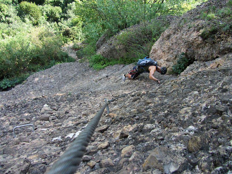 Klettersteig Känzele : Bregenz u känzele klettersteig downhillhoppers
