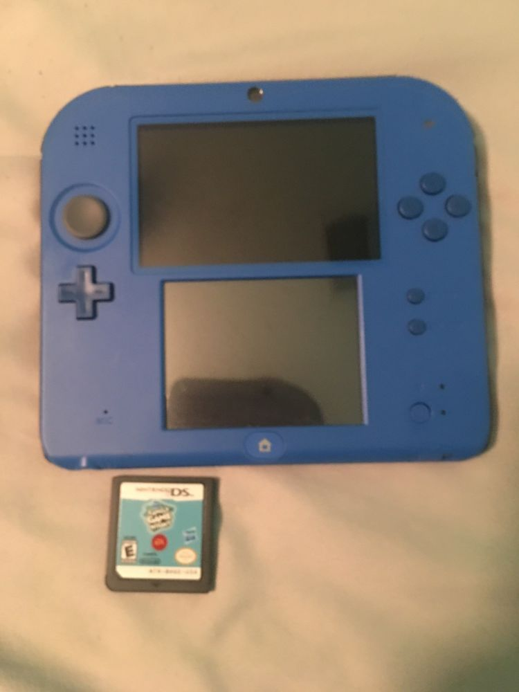 Nintendo 2ds Blue With Mario Kart 7 Nintendo 2ds Nintendo Retro Video Games