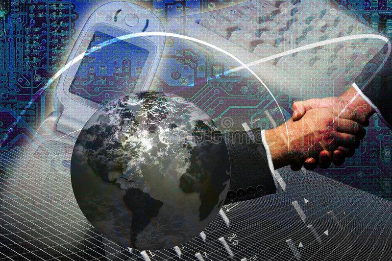 Technology Internet Success Technology And Internet World Wide Web Concept Sponsored Success Internet Technology Business Emails Etiquette Business