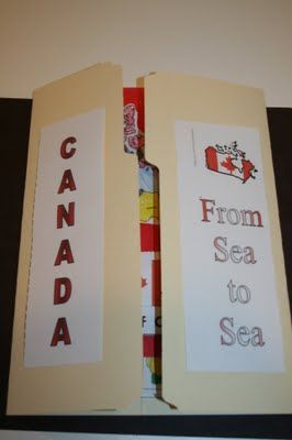 Mini Poster Board Great Idea For A Unit On Different Countries Students Can Comple Social Studies Activities 6th Grade Social Studies Canadian Social Studies