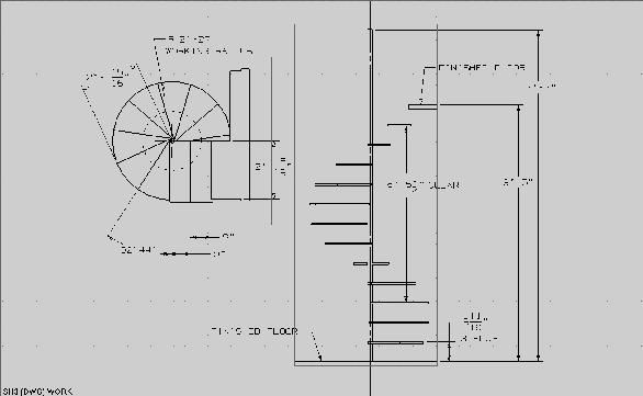 How To Build A Spiral Staircase Spiral Staircase Plan Circular Stairs Spiral Staircase Dimensions